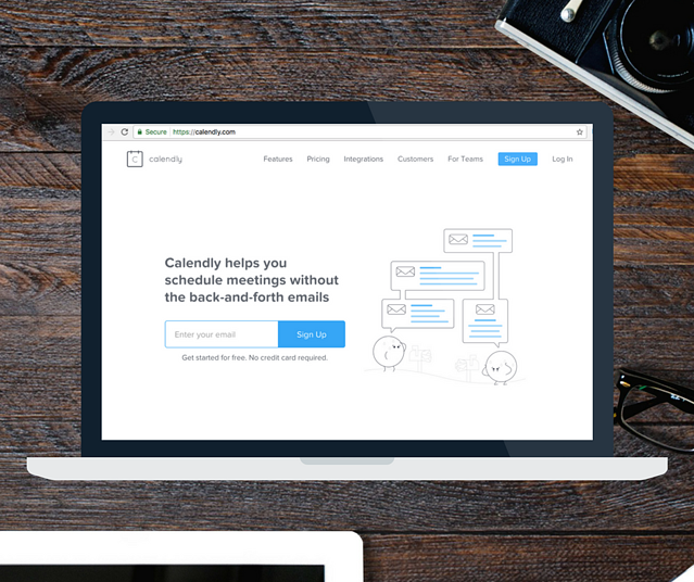 calendly scheduling tools for financial advisors