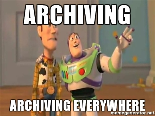 archiving for financial advisors