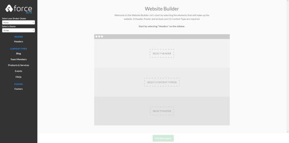 financial advisor website builder