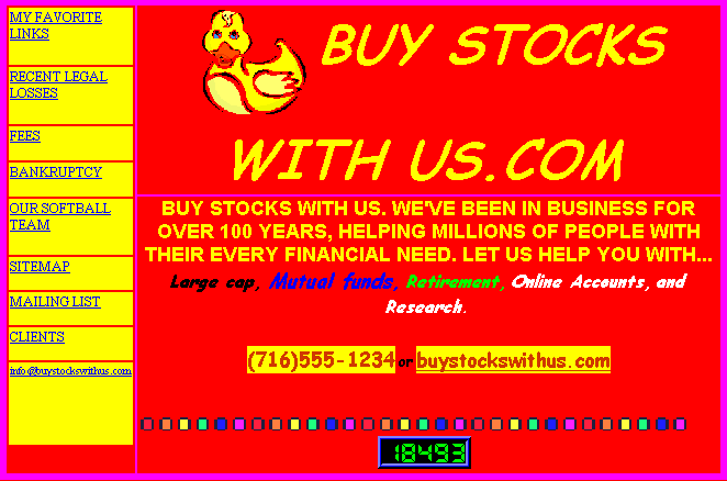 bad website design example