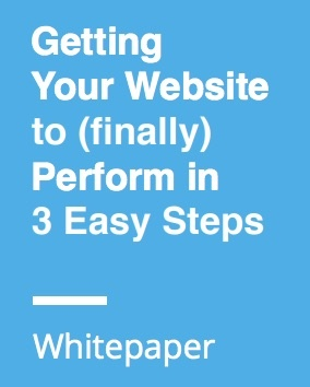 Getting Your Website to (finally) Perform in 3 Easy Steps - Advisor Websites Whitepaper