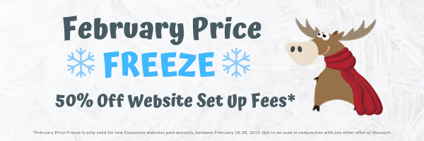 Feb Price Freeze Email Header