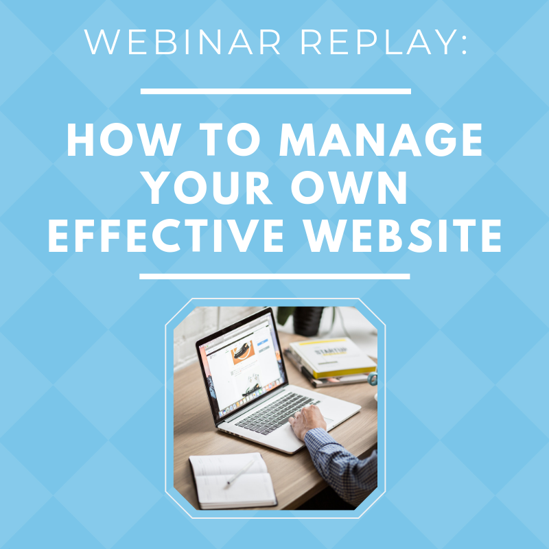 How to Manage your own effective website