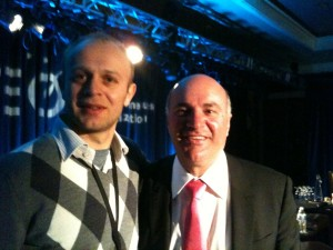 Kevin O'Leary and Bart Wisniowski