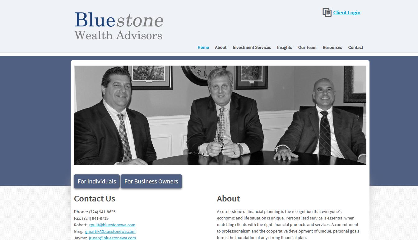 Bluestone Wealth Advisors