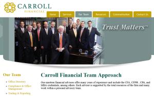 The Carroll Financial Team