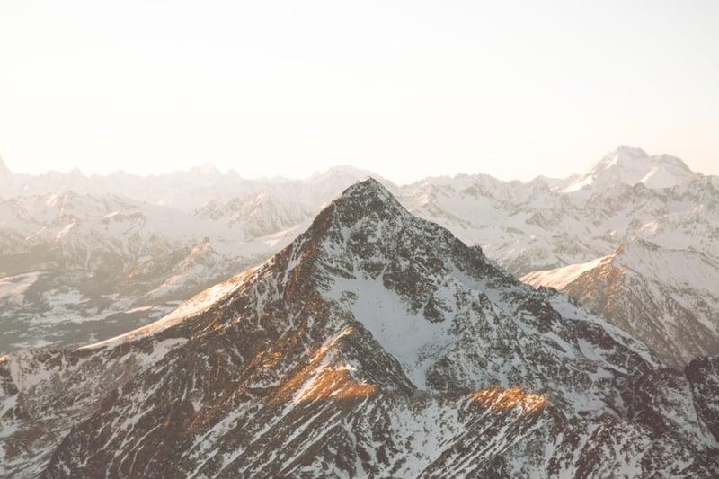 mountain canva