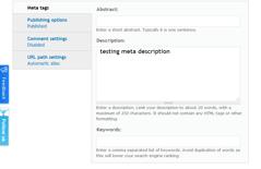 Advisor Websites - Auto-save functionality - screen 3