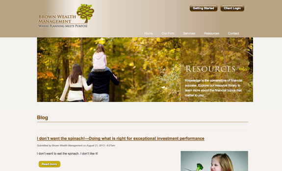 brown wealth management