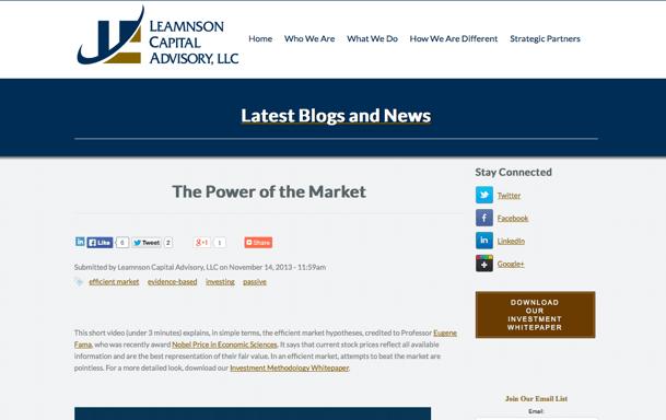 leamnson capital advisory