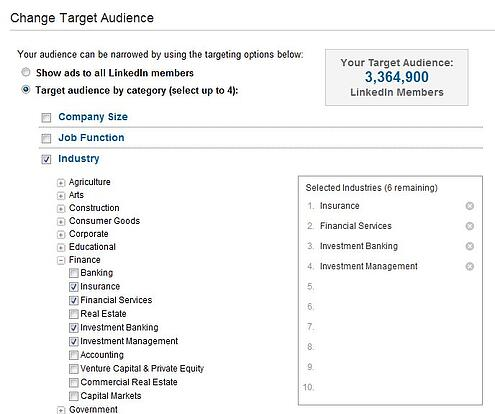 LinkedIn DirectAds for advisors – how to succeed