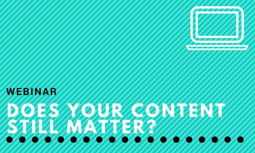 Webinar: Does Your Content Still Matter? With Kiplinger