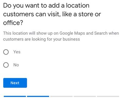 GMB add location