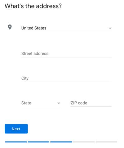 GMB address