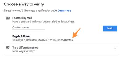 GMB verify
