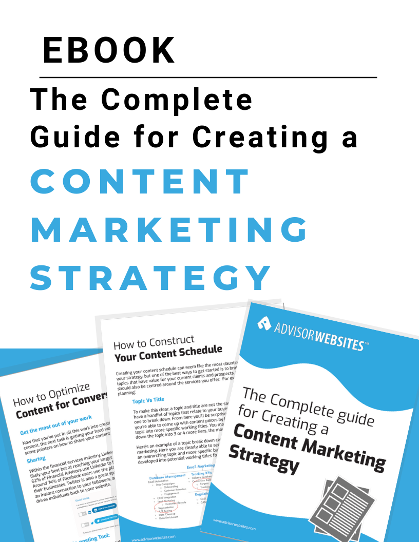 The Complete Guide for Creating a Content Mkting Strategy - Landing Pg
