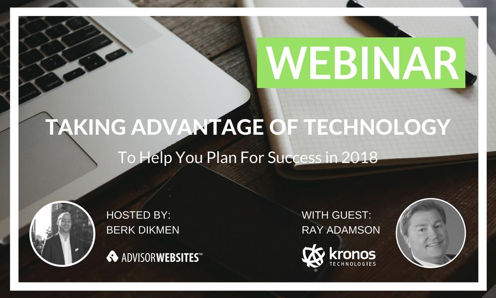 kronos webinar taking advantage of technology