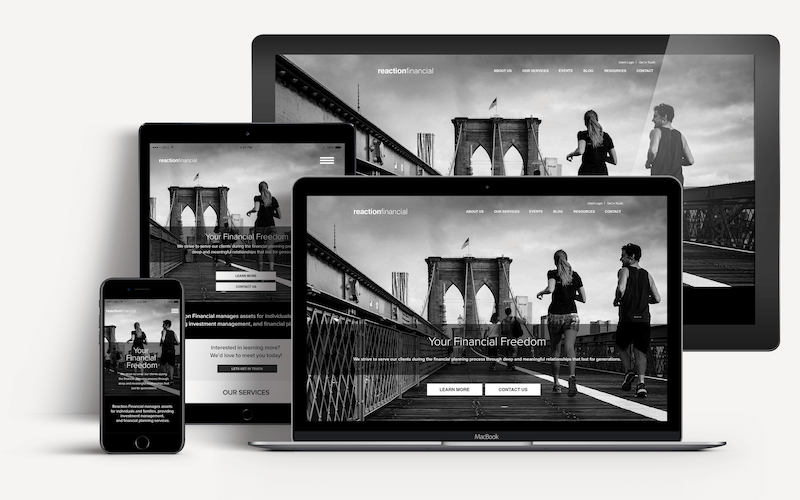 Responsive Websites for Financial Professionals