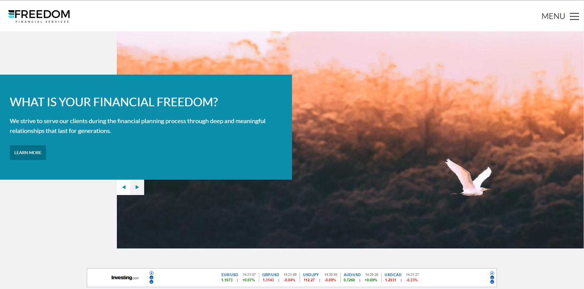 freedom theme advisor websites