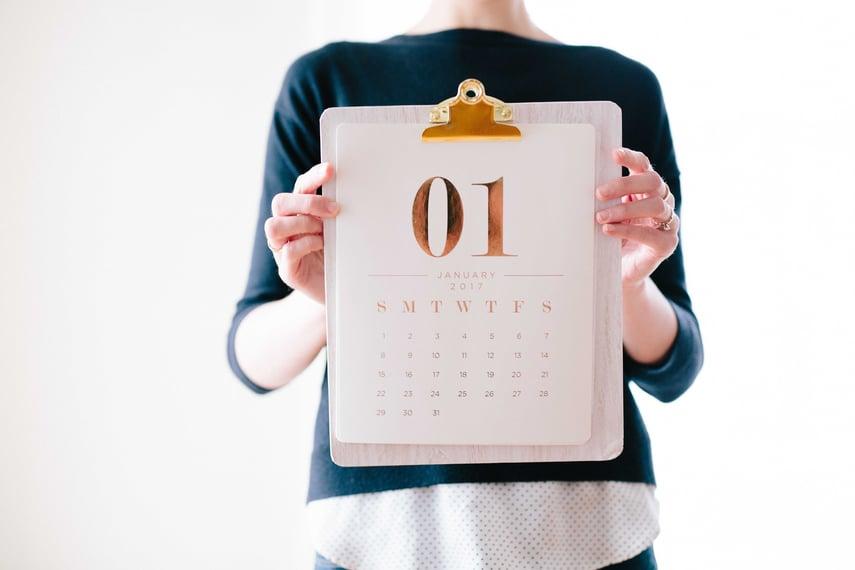 Financial Advisor Calendar