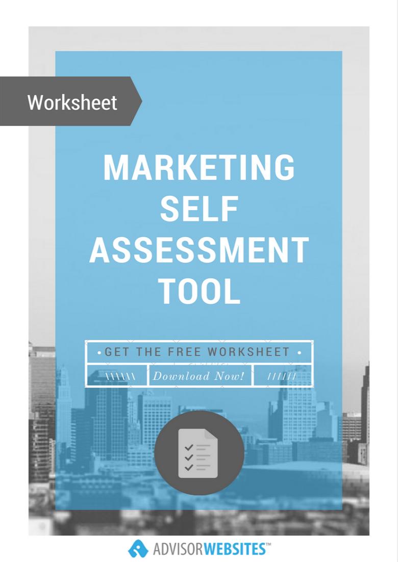 Marketing Self-Assessment Tool for Financial Advisors