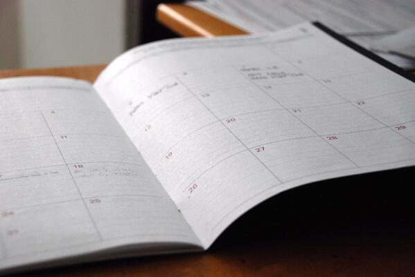 Calendar settings for financial advisors