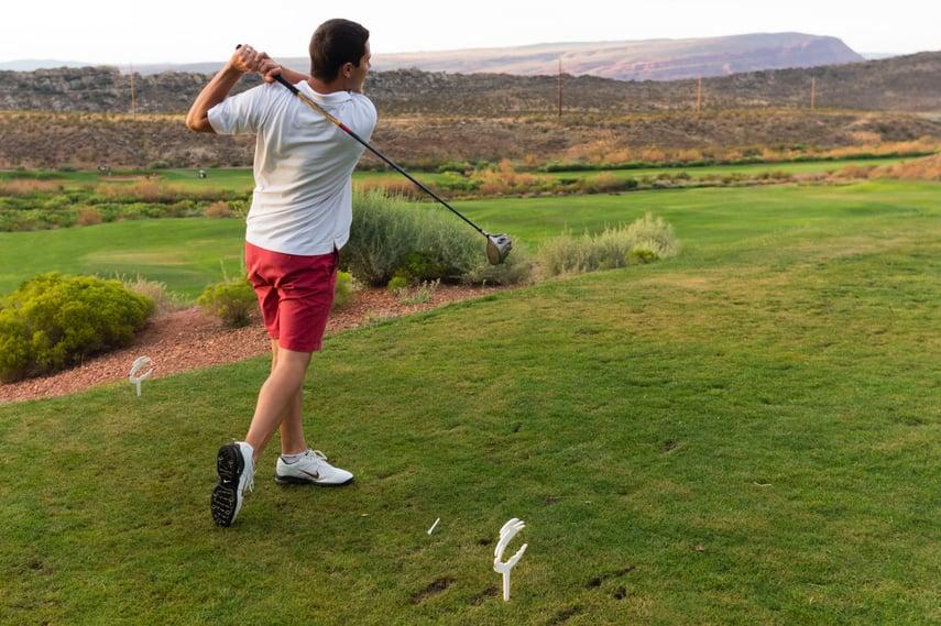 Financial Advisor Biography Golf