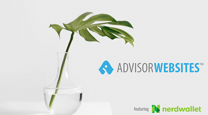 Advisor Websites featuring NerdWallet.