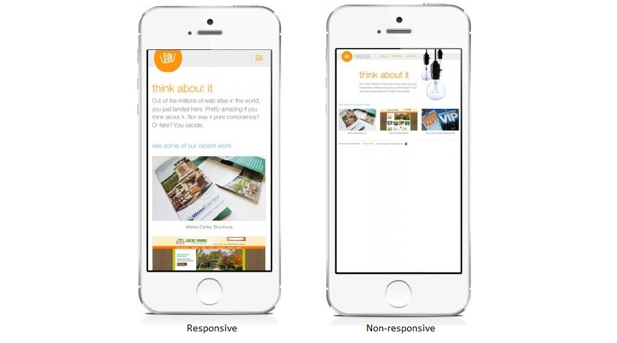 Responsive mobile-friendly example